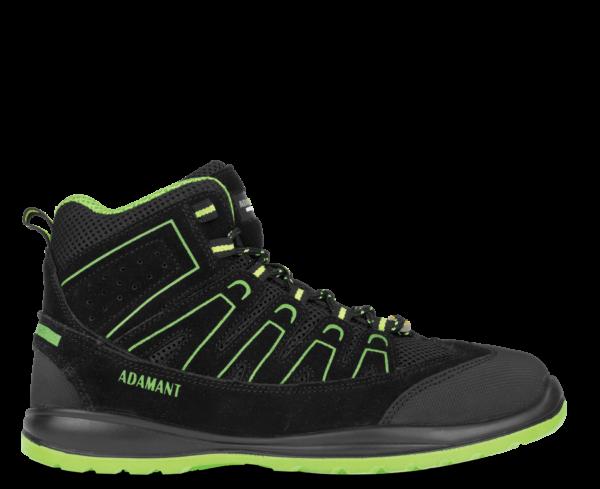 polvisoki delovni čevlji s kapico in protivbodnim podplatom